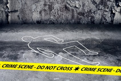 Crime Scene - Homicide in New York